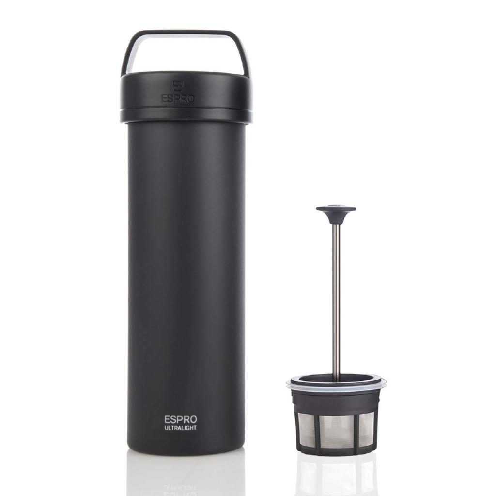 espro portable french press and plunger