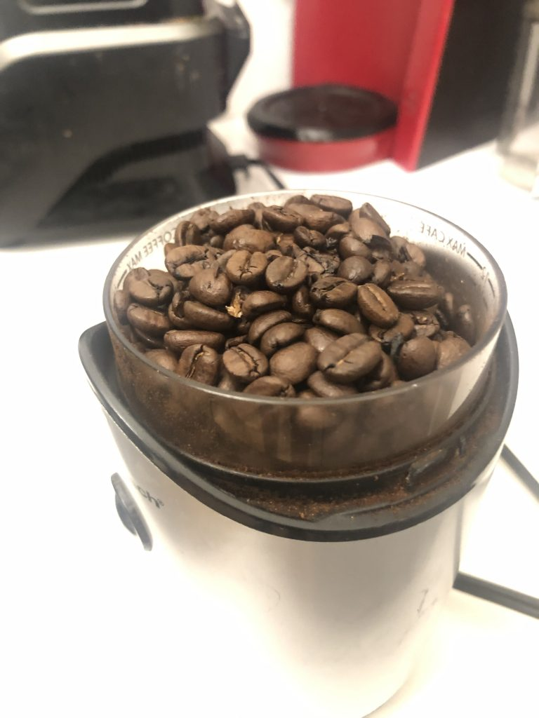 trader joe's medium roast in grinder ready