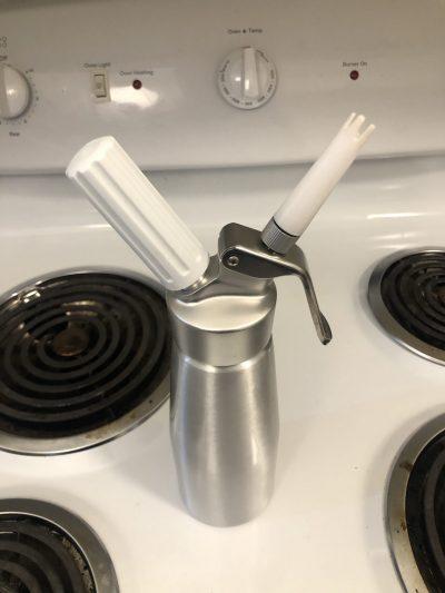 whipped cream dispenser for nitro cold brew