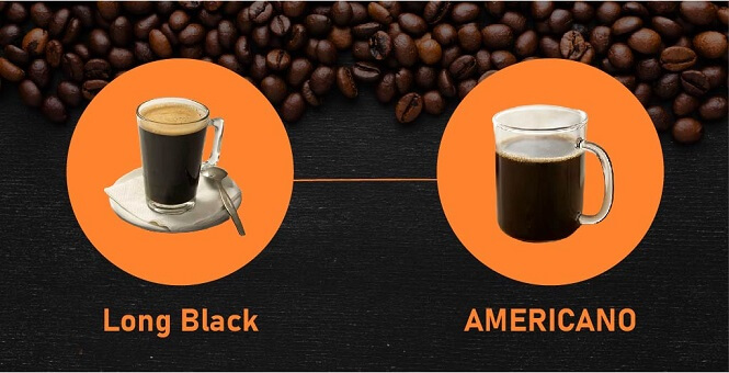 Long Black Coffee Different From an Americano