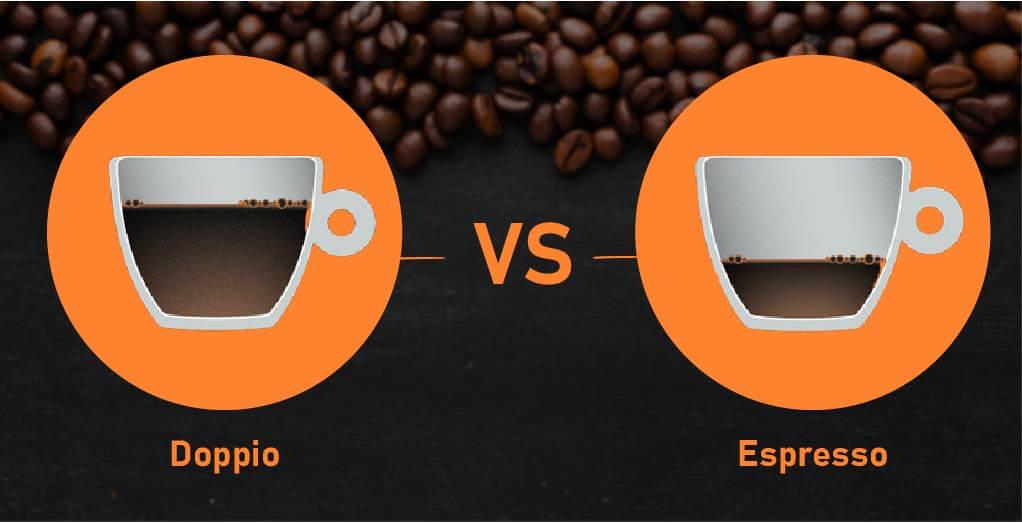 Doppio VS Standard Espresso