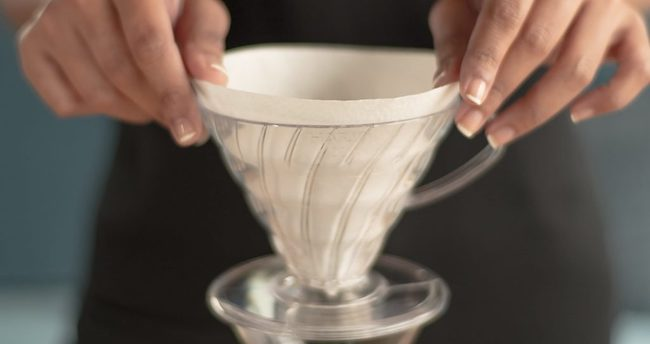 example of pourover cone