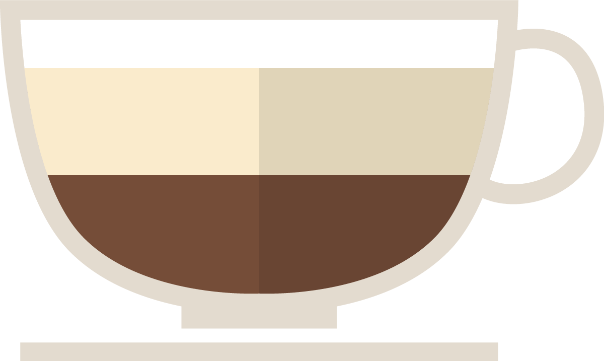 Flat-White coffee cup