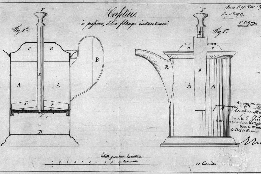 first french press blueprints