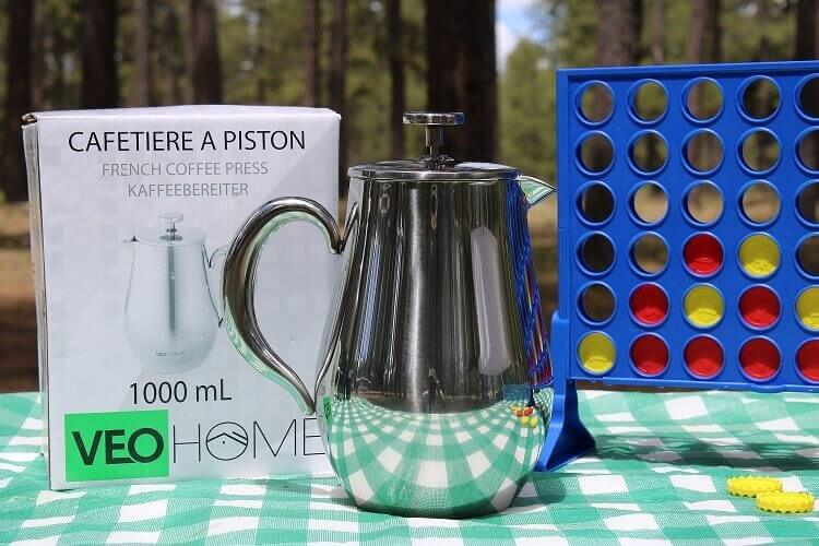 4 VeoHome french press