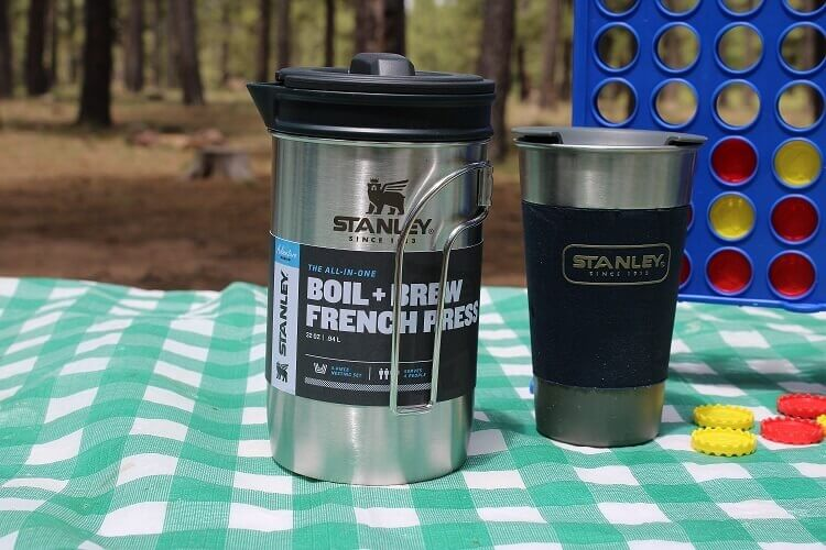6 Stanley Adventure All-in-One Boil + Brew french press