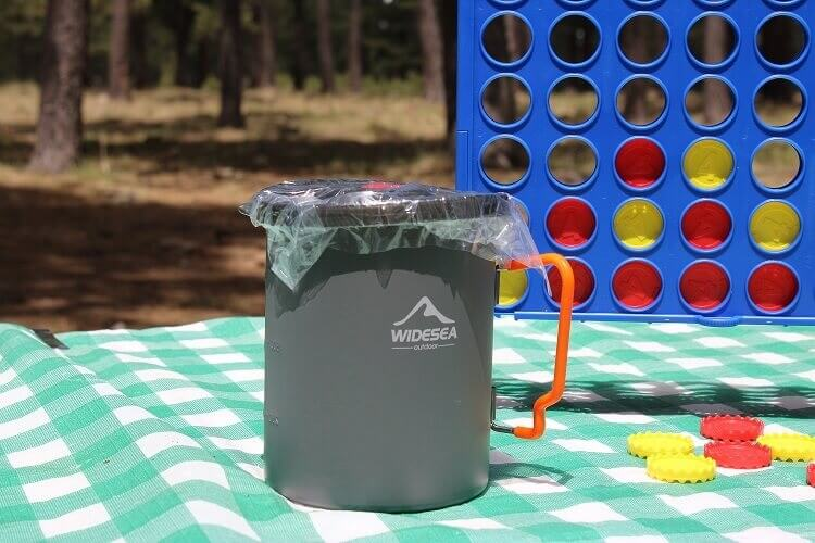 8 Widesea Camping Coffee Pot french press