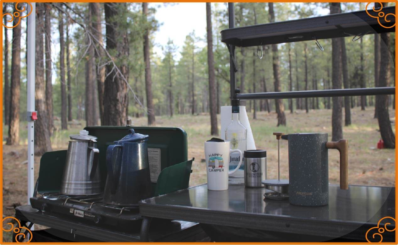 Why Choose a French Press for Camp Coffee