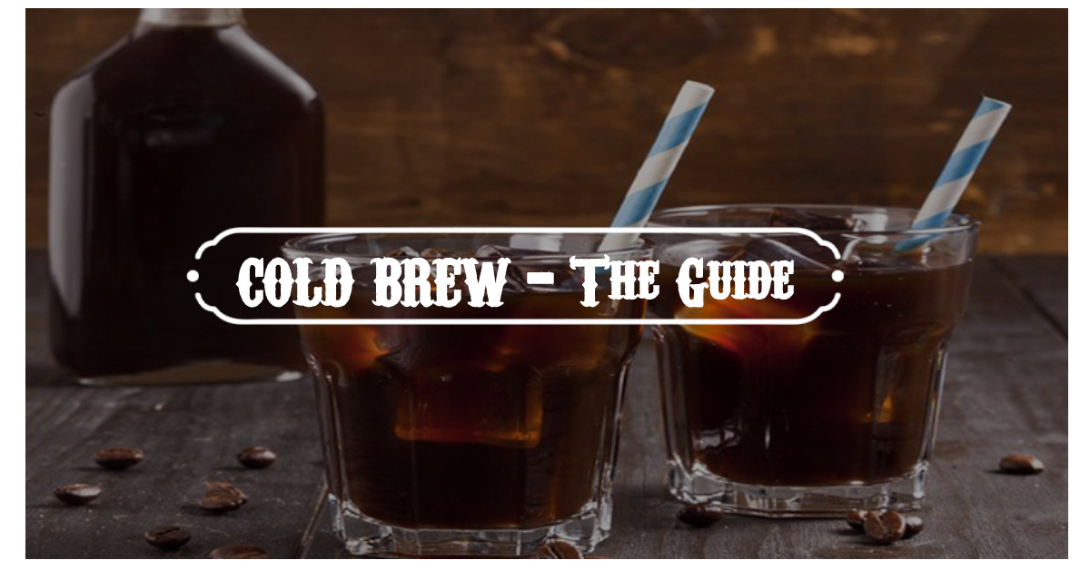 how to brew cold coffee