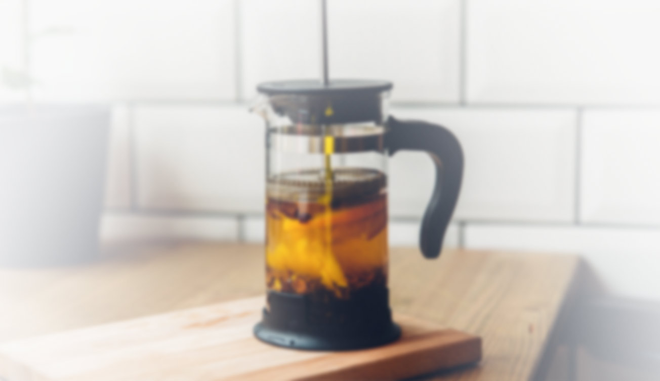 making cold brew with french press