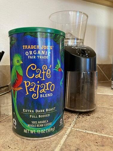 Cafe_Pajaro coffee