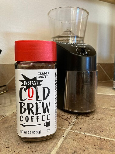 Instant Cold Brew coffee