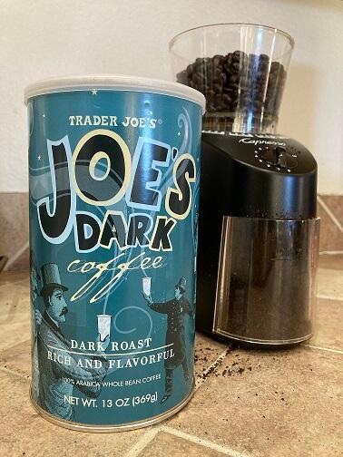 Joe Dark coffee