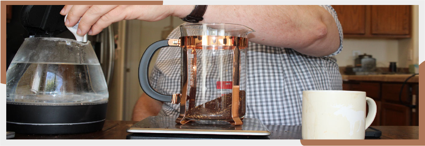 how Bodum Chambord french press works