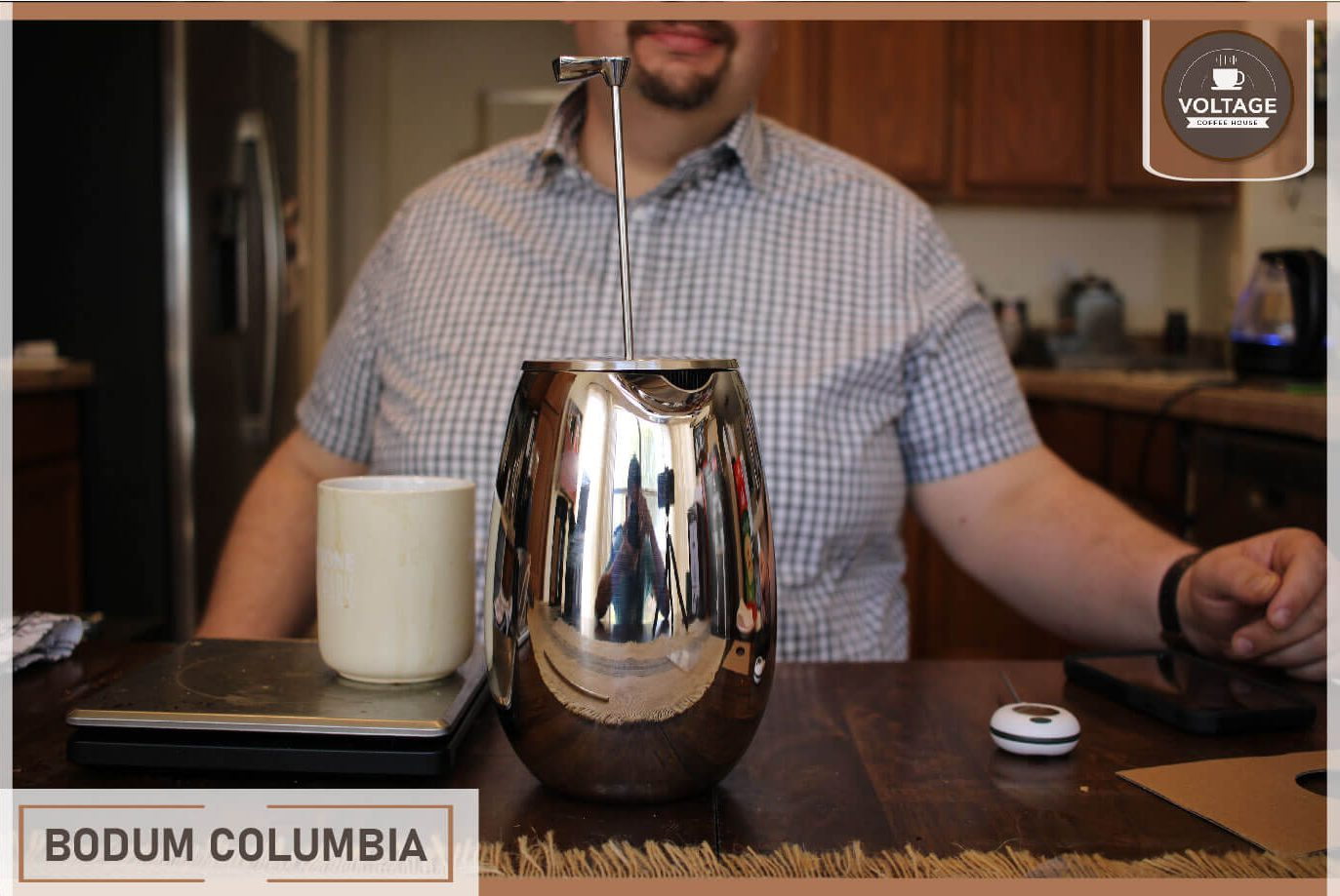 Bodum Columbia french press maker review