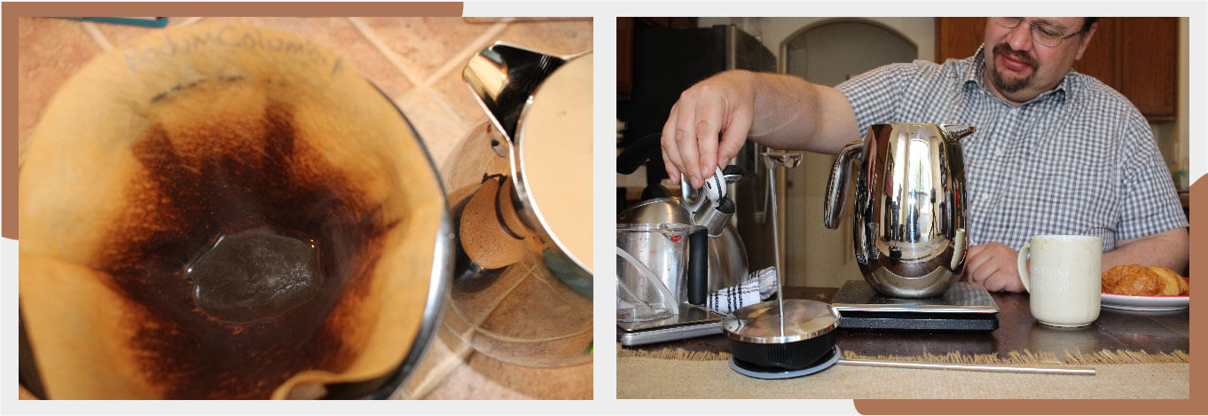 how Bodum Columbia french press works