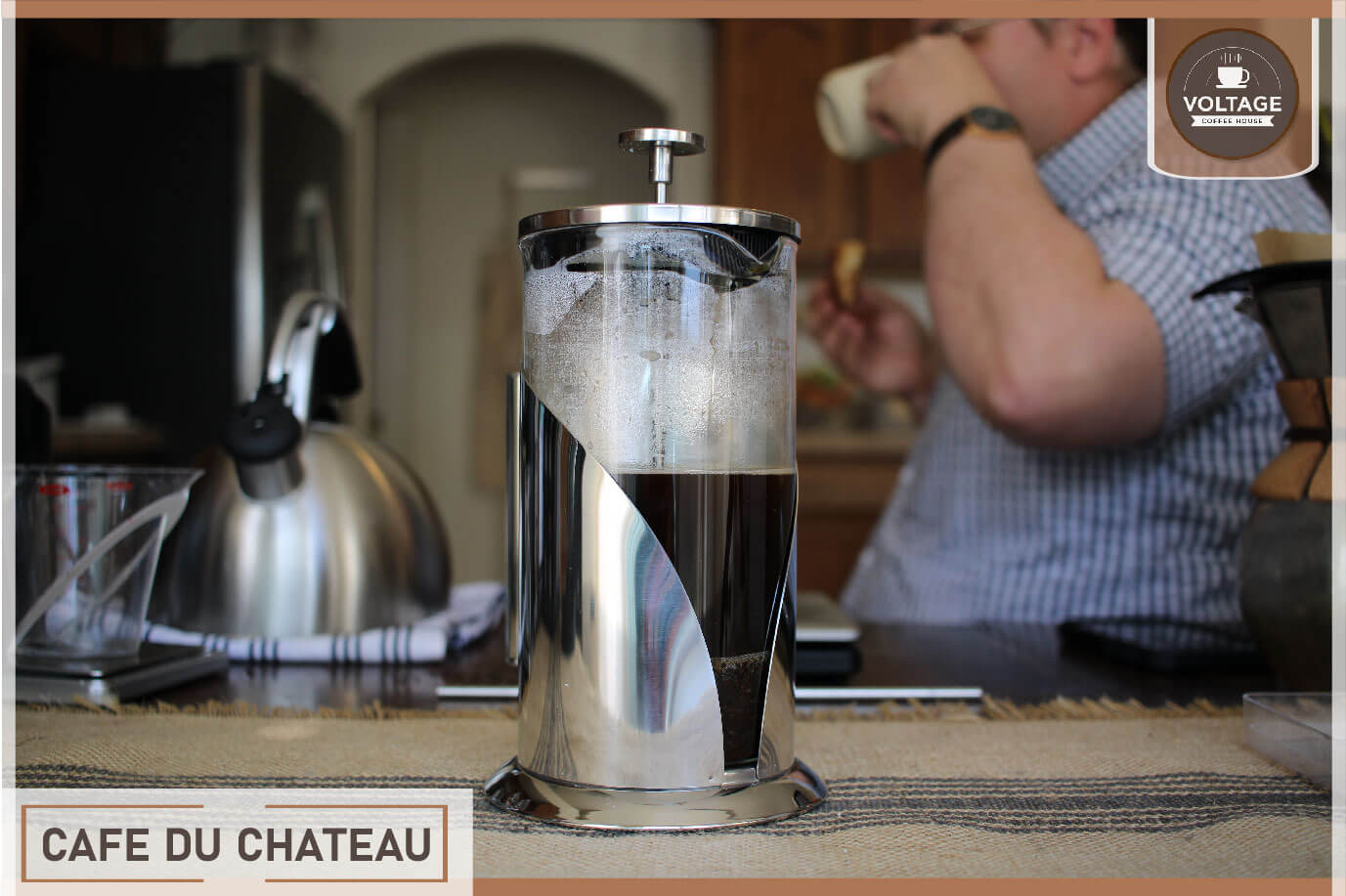 Cafe du Chateau french press maker review