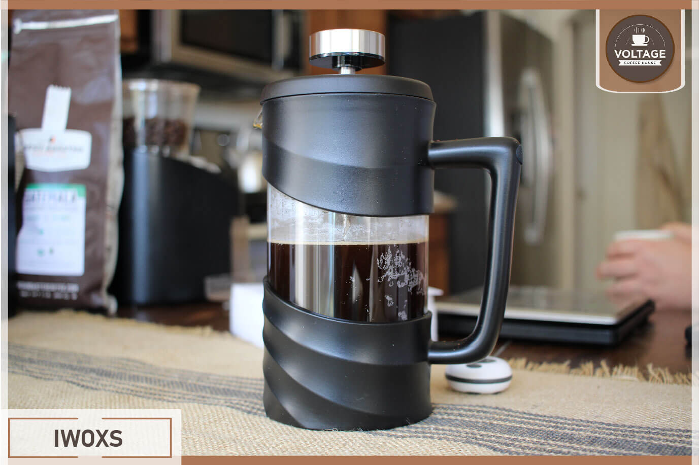 Iwoxs french press maker review