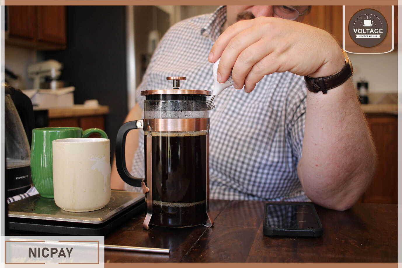NicPay french press maker review