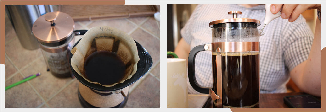 how NicPay french press works