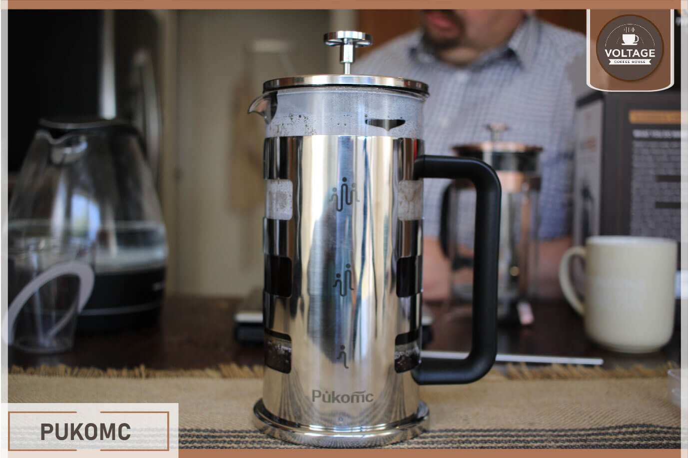 Pukomc french press maker review