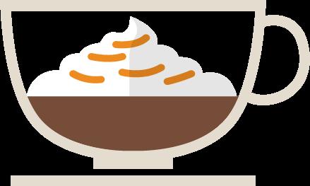 Espresso con Panna coffee ratio