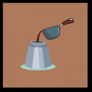 a jar & Deep-saucepan