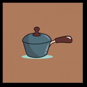 Deep-saucepan