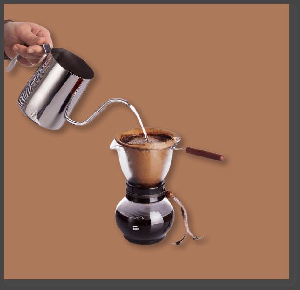 nel drip pouring process