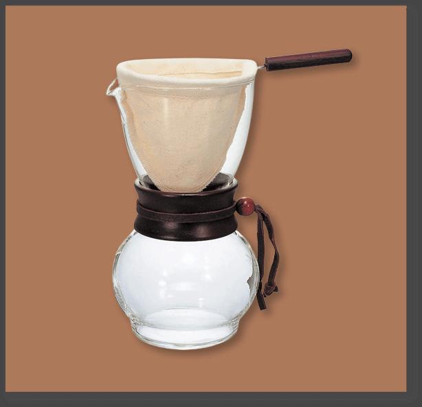nel drip brewing vessel
