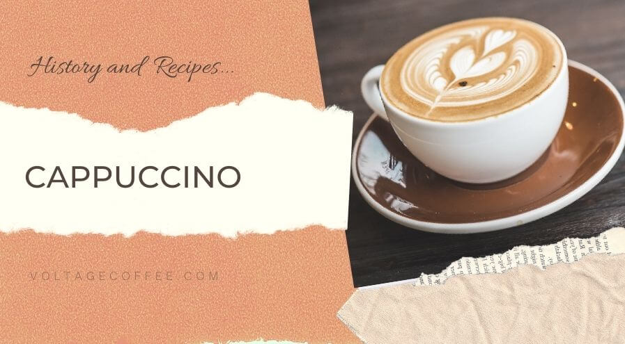 Cappuccino recipe and history featured image