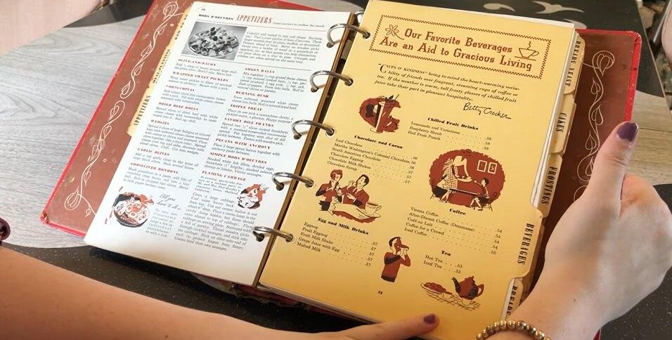 Betty Crocker cookbook 1950