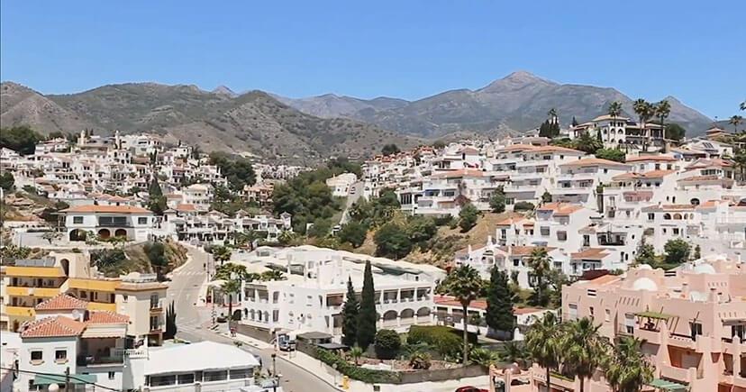 Costa del Azahar day time top view