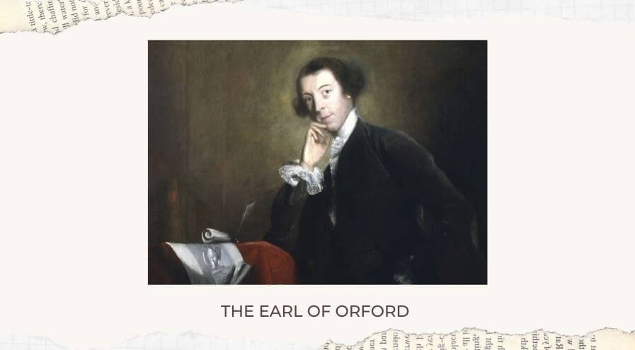 The Earl of Orford title achiever