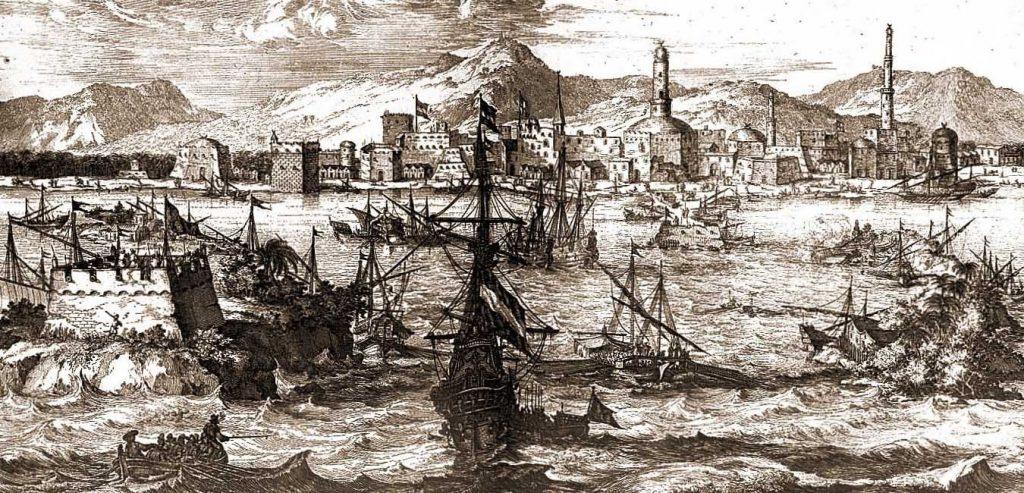 historic photo of yemeni port