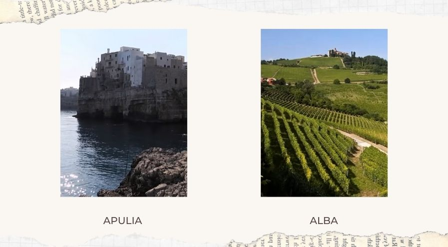 Apulia and Alba