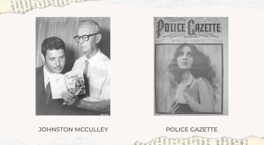 Police Gazette, and its Writer