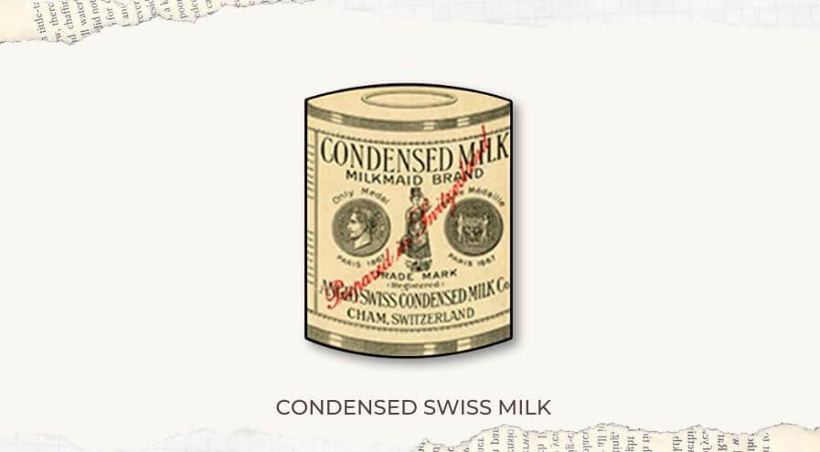 Milkmaid brand condensed milk